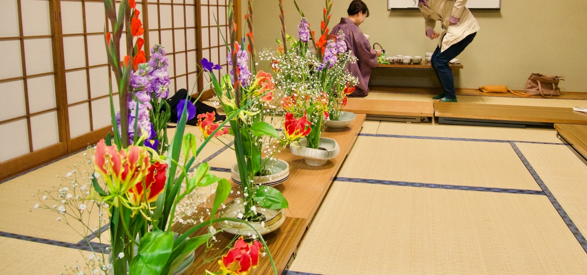 Japanese Flower Arranging